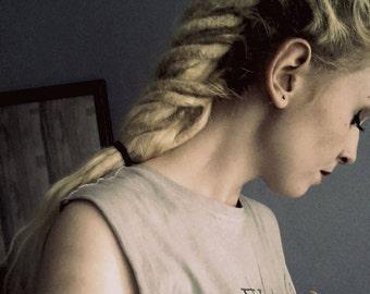 Dreadlocks Extensions 100 % Human Hair (50 dreadlocks for a full head)