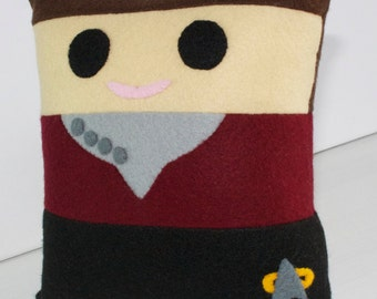 Star Trek Captain Kathryn Janeway Mini Felt Cushion