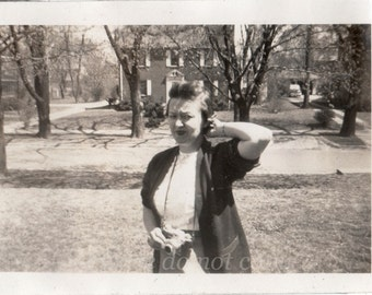 Frustrated Photographer ~ Vintage Photo  ~ 1930's snapshot
