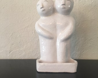 Mid Century Modern Twin Sculpture
