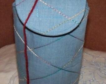 Yarn Keeper/ Knitting Storage / Yarn Cozy