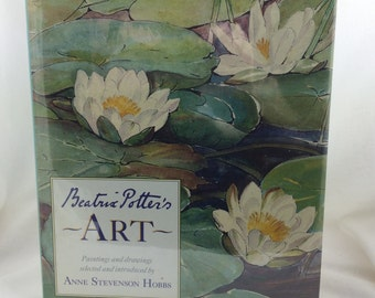Beatrix Potter Book, Beatrix Potter's Art, Art by Beatrix Potter, Gift for Beatrix Potter Lover, Collectible Beatrix Potter Book