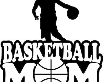 Basketball Mom Shirt/ Basketball Shirt/ Girl Player Basketball Mom T Shirt/ Many Colors/ Basketball Gifts
