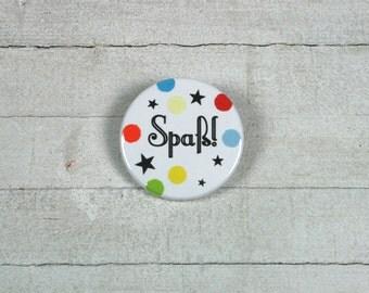 Fun! -Button 3.8 cm / / with real confetti