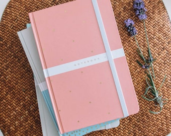 A5 Pastel Notebook - Pink