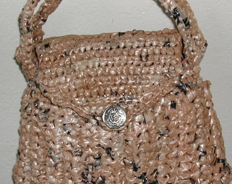 Small Brown Ecouture Lined Purse