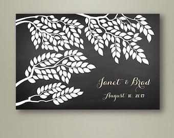 Wedding Poster Tree / Wedding Guest book / Wedding guestbook / Wedding Tree / Alternative guestbook / Wedding gift idea / Bridal shower gift