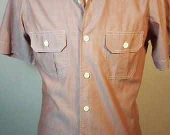 FREE  SHIPPING  Vintage Men Capri Shirt