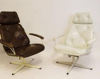 Mid Century Modern Homecrest Lounge Rocker Swivel Chair