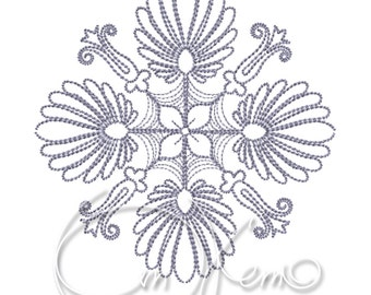 MACHINE EMBROIDERY FILE - Mandala 4