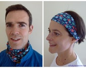 Running headband buff cyclist scarf fitness headband multifunctional headwear bicycle headwear sport headband headwrap