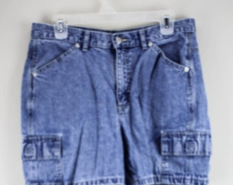 90's Ladies Light Wash Denim High Wasted Shorts