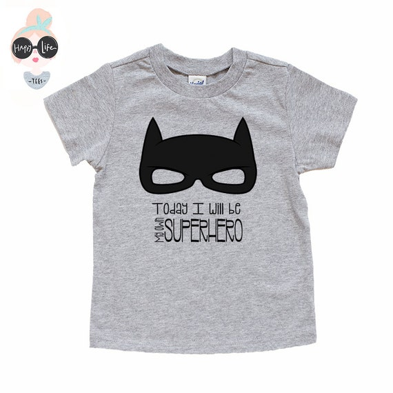 Boys superhero shirt superhero shirt toddler t shirt baby Boys superhero t shirts