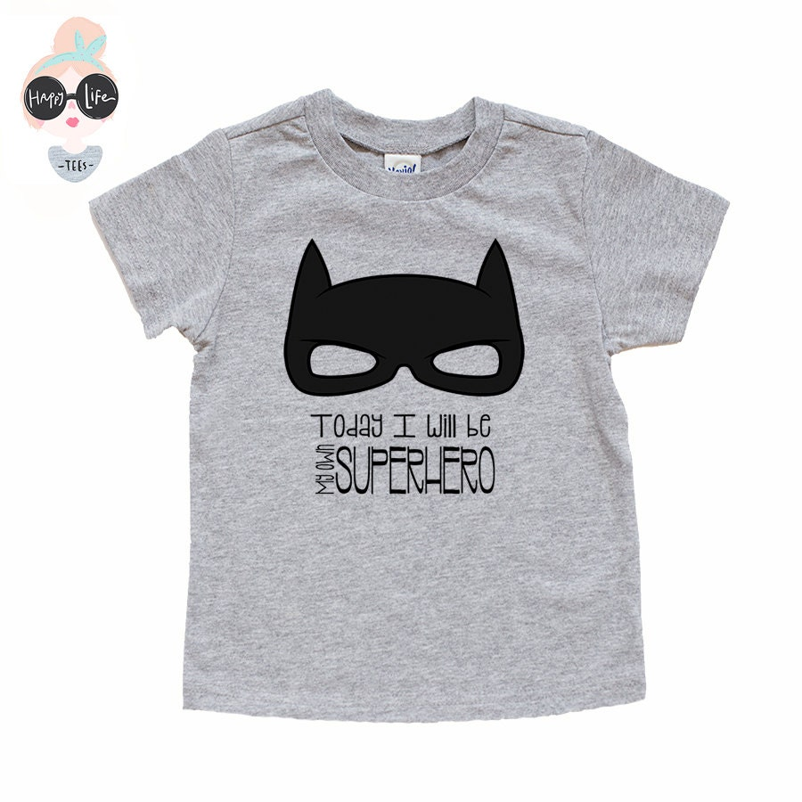 Boys Superhero Shirt Superhero Shirt Toddler T-Shirt Baby