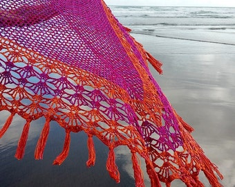 Crochet Shawl Pattern ~ Instant Download