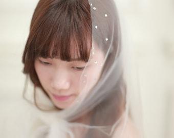swarovski crystals juliet veil,Juliet Cap Veil ,bridal cape ,bridal veil,long veil