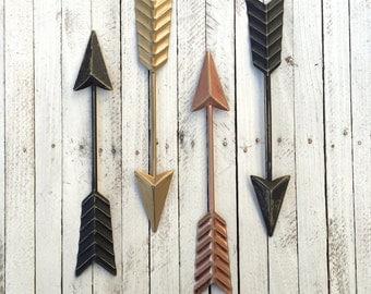 Arrow Wall Art, Arrow Decor, Arrow Wall Decor, Arrow Wall Hanging, Metal Decor, Tribal Decor, Native America, Native American Arrow, Arrows