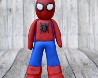 Spiderman ornament, Spiderman cake topper for son, ornament for boy, ornament for son, Spiderman ornament, Spiderman caketopper