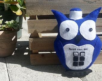 TARDIS: Owl Plush