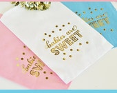 Baby Shower Candy Bags Baby Shower Favor Bags Baby Shower Goodie Bags Baby Shower Gift Bags Baby Shower Bags Favors (EB3038B) set of 12