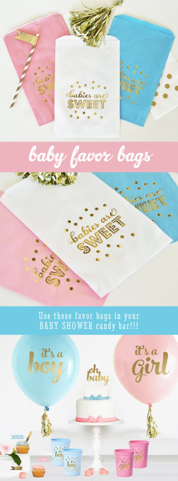 Baby Shower Favors At Babies R Us ~ Baby shower candy bags favor