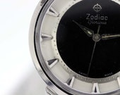 Stainless Steel Zodiac Glorious Wrist Watch 1950s