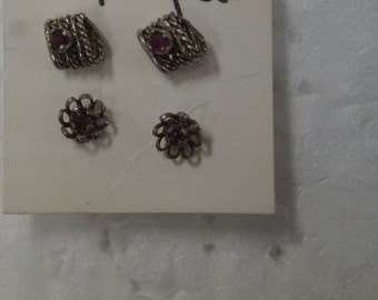 Sterling Silver Earrings - Sold Individually