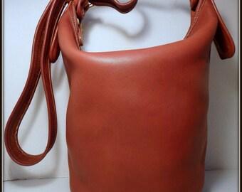 COACH Helen Legacy British Tan Leather 9953 VTG