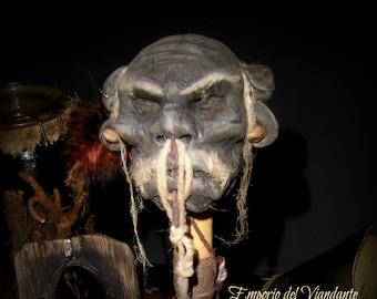 Tzantza Head of Shaman (from Solomon Island)