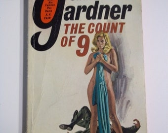 The Count of 9 by Erle Stanley Gardner ( A.A. Fair ) Pocket Books 1969 GGA Vintage Mystery Paperback