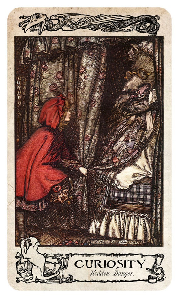 The ARTHUR RACKHAM Oracle - 75+ Card Tarot-sized Oracle Deck