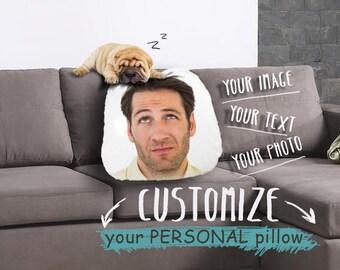 Personal Printed Pillow, Personal Print, Customized pillow, Personal decorative pillow, Custom Funny pillow, Personal design pillow