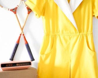 50's-60's Handmade Collared Dress