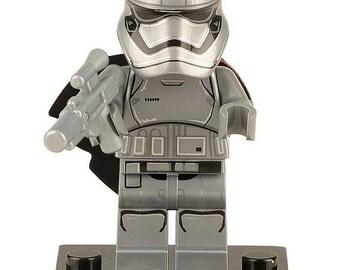 Star Wars© Captain Phasma™ ~ ID Holder Customized with Brick® Minifigure ~ Badge Reel ~ Belt Clip ~ Alligator Clip~ Keychain Cufflinks Nurse