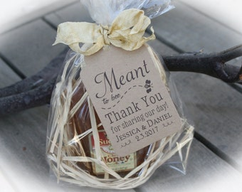Honey Wedding Favor Kits DIY Meant To Bee Tags 3 Tag