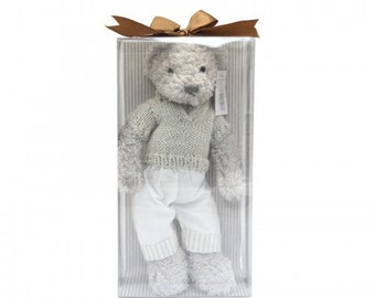 Spring Sale!!!!!!!!!!! Plush Toy Cuddly Bear (Boy) - Small