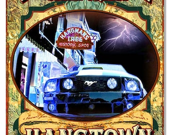 Placerville, California Original Artwork 12''x 18'' sign RG7708