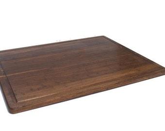 "Bamboo Cutting Board with Juice Groove - 30"" x 24"" x 1"""