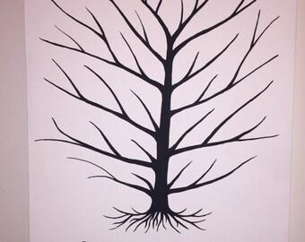 Thumbprint Tree Guestbook