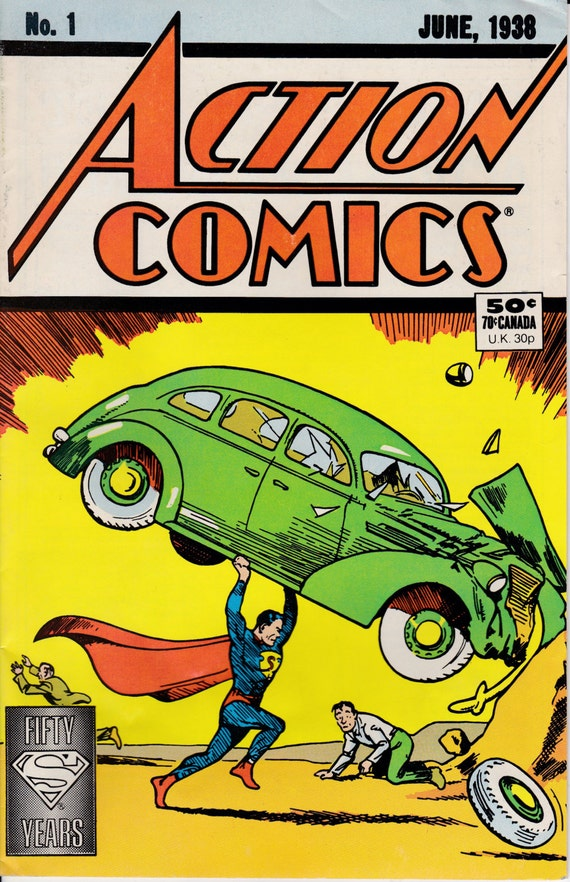 Action Comics No. 1 Introducing Superman - Getty Images