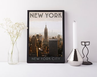 New York City - Print - Digital Art
