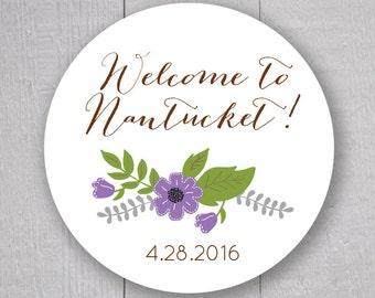 Welcome To Stickers, Wedding Welcome Sticker, Destination Wedding Stickers, Wedding labels (#247)