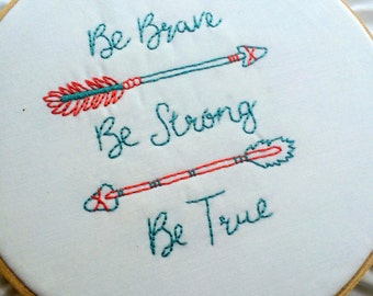 Hand Embroidery Pattern-Arrow Pattern-PDF-Instant Download