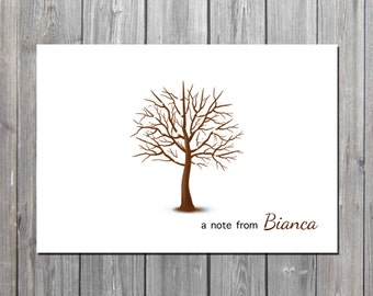 Personalized  Winter notecards/teacher notecard/Spring notes/PROFESSIONALLY PRINTED