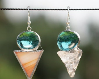 Triangle Mismatch Earrings