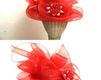 African Ribbon Hat