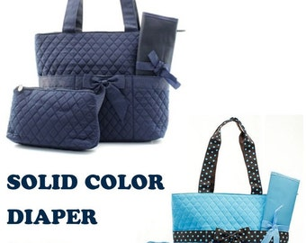 Diaper Bags- Monogrammed --NEW PRINTS