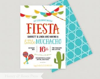 fiesta baby shower invite fiesta shower mexican themed shower boy baby shower