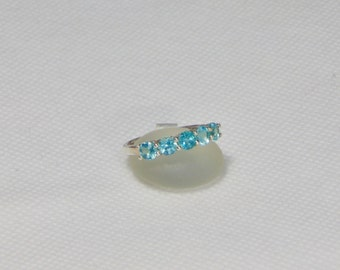 Apatite Size 7 Sterling Silver Ring