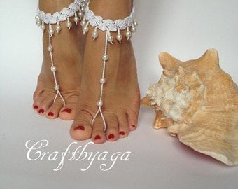 Bridal Barefoot Sandals,Beach Barefoot Sandals,Beach Wedding Barefoot Sandals,Wedding Barefoot Sandals,Bridal Foot Jewelry,Bridesmaid Gift